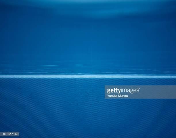 Swimming pool,underwater view
