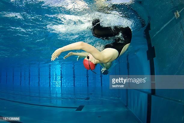 Swimming turn