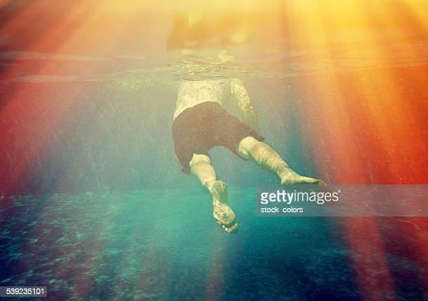 Nadar debaixo de água