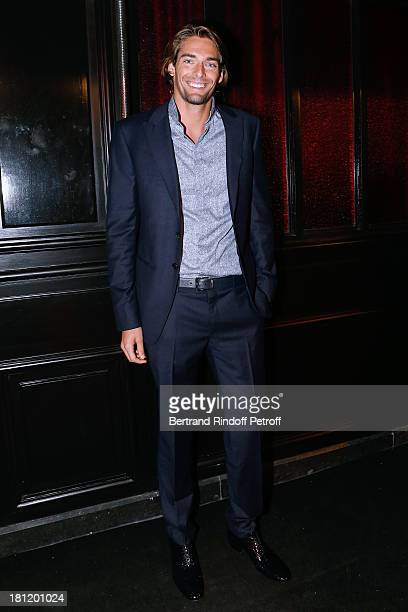 Swimming world champion Camille Lacourt attends 'AClub Party' at Castel on September 19 2013 in Paris France