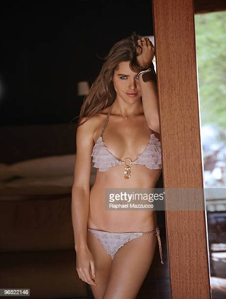 Swimsuit 2010 Issue Portrait of Zoe Duchesne during photo shoot on location in Atacama Chile October 29 2009 PUBLISHED IMAGE ON EMBARGO IN NORTH...