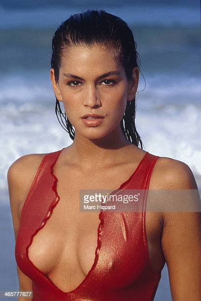 Swimsuit Issue 1988 Model Cindy Crawford is photographed for the 1988 Sports Illustrated Swimsuit issue on February 2 1988 in Phuket Thailand CREDIT...