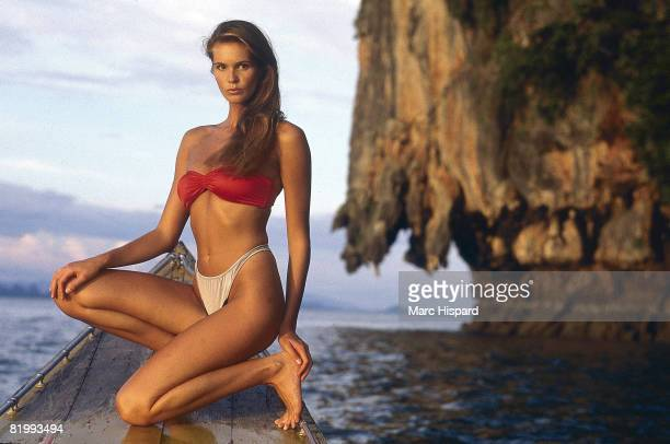 Swimsuit Issue 1988 Model Elle Macpherson poses for the 1988 Sports Illustrated swimsuit issue on February 8 1988 in Chiang Mai Thailand CREDIT MUST...