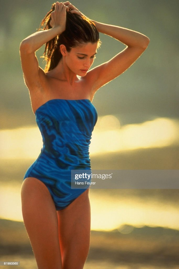 Stephanie Seymour, Sports Illustrated, Swimsuit 1991 | Getty Images Sports Illustrated Swimsuit 1991