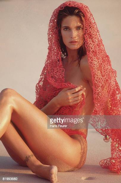 Swimsuit Issue 1991 Model Stephanie Seymour is photographed for the 1991 Sports Illustrated Swimsuit issue on February 1 1991 in Denpasar Bali...