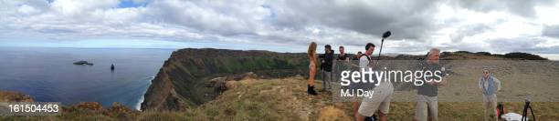 Swimsuit Issue 2013 Behind the scenes of the 2013 Sports Illustrated Swimsuit issue on October 28 2012 on Easter Island Chile CREDIT MUST READ MJ...