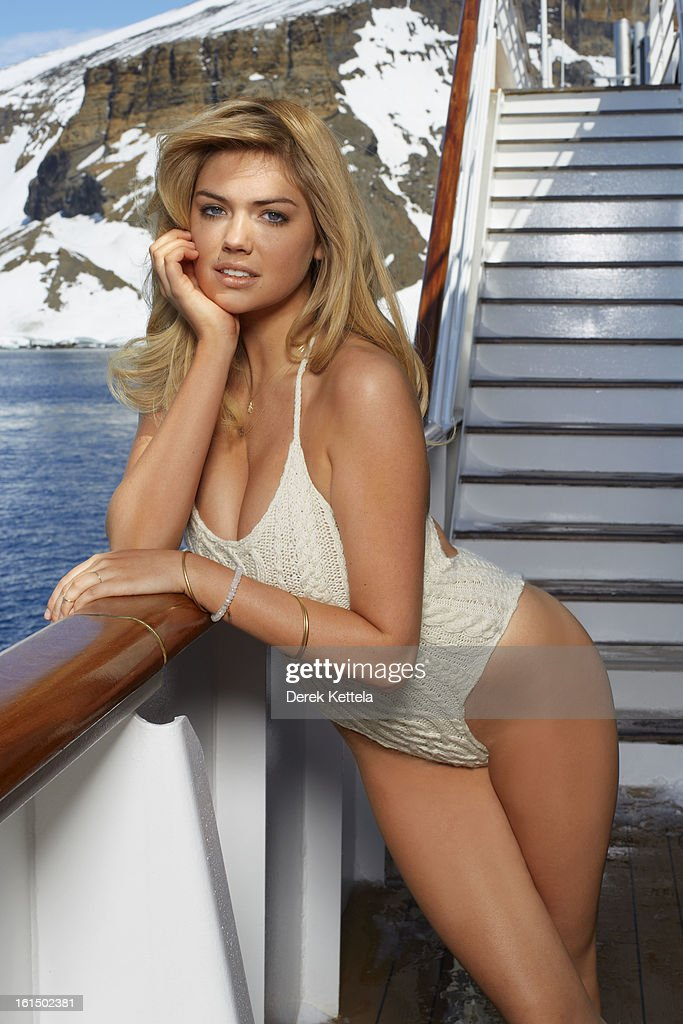 Model <a gi-track='captionPersonalityLinkClicked' href=/galleries/search?phrase=Kate+Upton&family=editorial&specificpeople=7488546 ng-click='$event.stopPropagation()'>Kate Upton</a> poses for the 2013 Sports Illustrated Swimsuit issue on December 2, 2012 in Antarctica. PUBLISHED IMAGE.