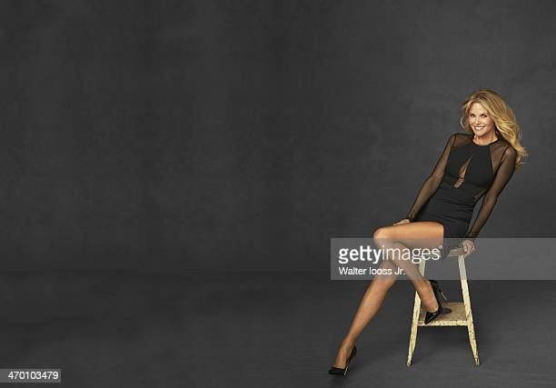 Swimsuit Issue 2014 Model Christie Brinkley poses for the 2014 Sports Illustrated Swimsuit issue on October 17 2013 in New York City PUBLISHED IMAGE...
