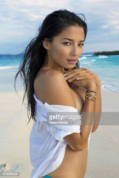 Swimsuit Issue 2014 Model Jessica Gomes poses for the 2014 Sports Illustrated Swimsuit issue on September 25 in Madagascar PUBLISHED IMAGE CREDIT...