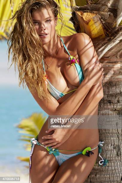 Swimsuit Issue 2014 Model Nina Agdal poses for the 2014 Sports Illustrated Swimsuit issue on November 4 2013 in Aitutaki Cook Islands New Zealand...