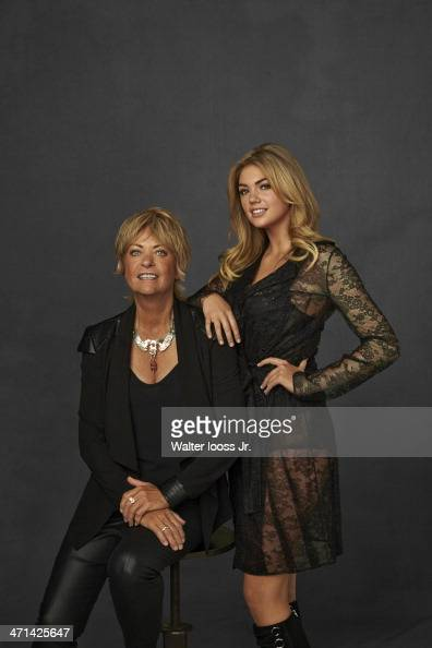 Swimsuit Issue 2014 Models Babette Beatty and Kate Upton pose for the 2014 Sports Illustrated Swimsuit issue on October 17 2013 in New York City...