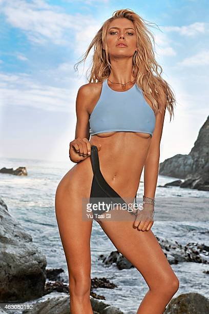 Swimsuit Issue 2015 Model Kelly Rohrbach poses for the 2015 Sports Illustrated Swimsuit issue on July 17 2014 in the United States Swimsuit by...
