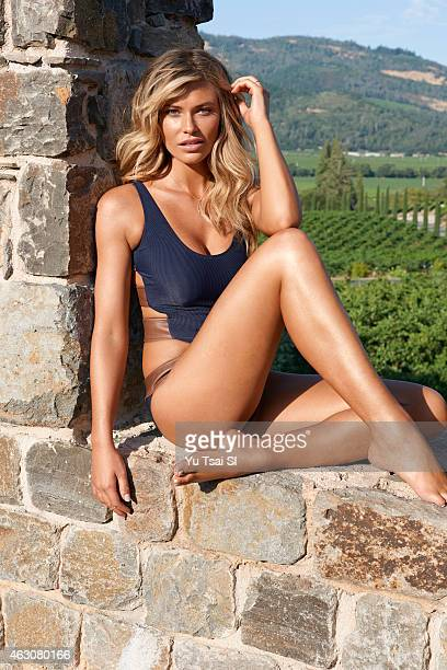 Swimsuit Issue 2015 Model Samantha Hoopes poses for the 2015 Sports Illustrated Swimsuit issue on July 16 2014 at Castello di Amorosa vineyard in...