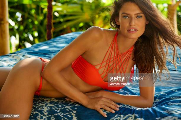 Model Bianca Balti poses for the 2017 Sports Illustrated swimsuit issue on October 15 2016 on Sumba Island Bali Indonesia PUBLISHED IMAGE ON EMBARGO...