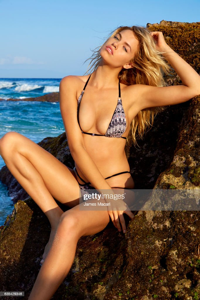 Model Hailey Clauson poses for the 2017 Sports Illustrated swimsuit issue on October 13, 2016 on Sumba Island, Bali, Indonesia. PUBLISHED IMAGE.