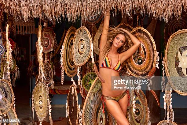 Model Kate Bock poses for the 2017 Sports Illustrated swimsuit issue on December 5 2016 in Tulum Mexico PUBLISHED IMAGE CREDIT MUST READ Ruven...
