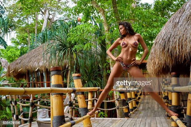 Model Kelly Gale poses for the 2017 Sports Illustrated swimsuit issue on October 11 2016 on Sumba Island Bali Indonesia PUBLISHED IMAGE ON EMBARGO IN...