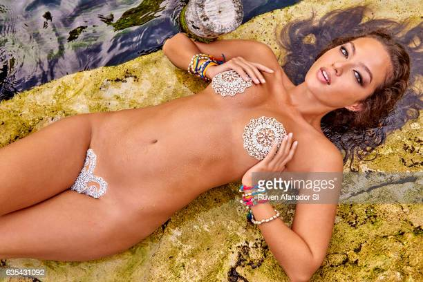 Model Mia Kang poses for the 2017 Sports Illustrated swimsuit issue on December 7 2016 in Tulum Mexico PUBLISHED IMAGE CREDIT MUST READ Ruven...