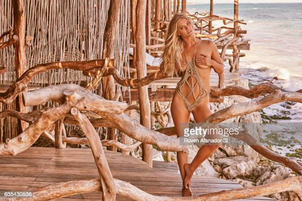 Model Nina Agdal poses for the 2017 Sports Illustrated swimsuit issue on December 1 2016 in Tulum Mexico PUBLISHED IMAGE CREDIT MUST READ Ruven...