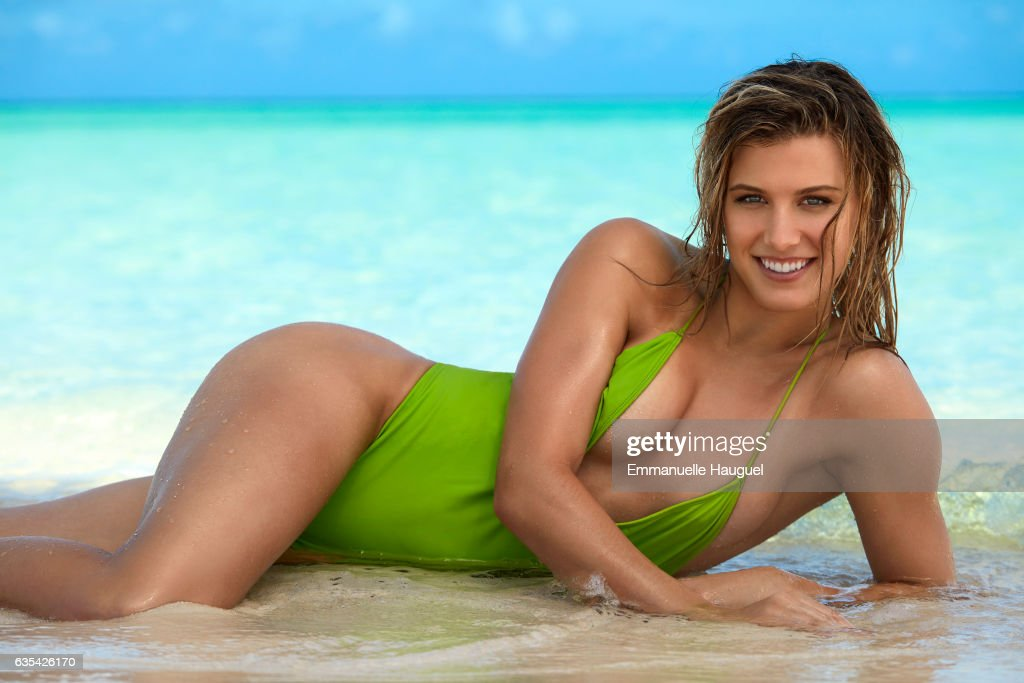 Tennis player Genie Bouchard poses for the 2017 Sports Illustrated swimsuit issue on September 12, 2016 on Turks & Caicos Islands. PUBLISHED IMAGE.