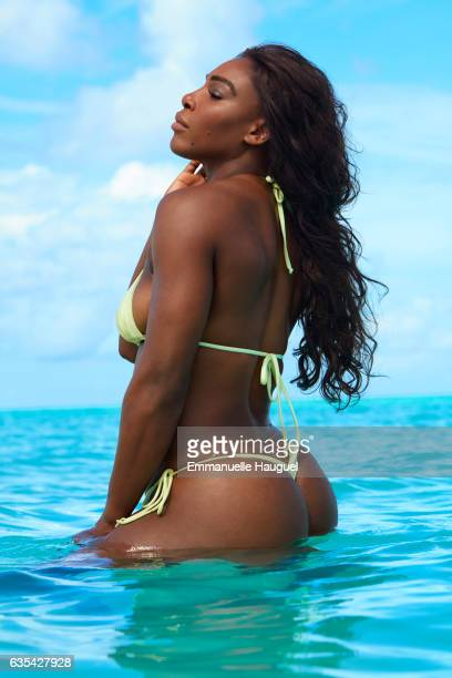 Tennis player Serena Williams poses for the 2017 Sports Illustrated swimsuit issue on September 16 2016 on Turks Caicos Islands PUBLISHED IMAGE...