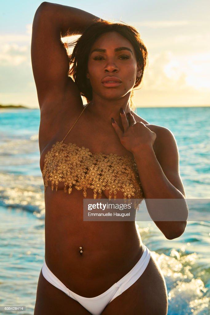 Tennis player Serena Williams poses for the 2017 Sports Illustrated swimsuit issue on September 16, 2016 on Turks & Caicos Islands. PUBLISHED IMAGE.