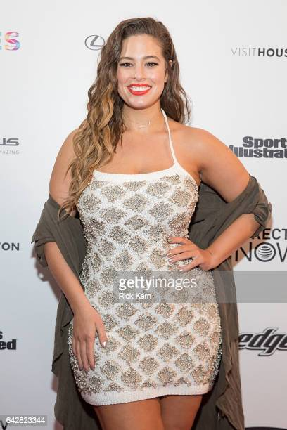 Swimsuit model Ashley Graham attends the VIBES by Sports Illustrated Swimsuit 2017 launch festival on February 18 2017 in Houston Texas