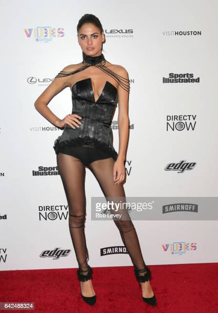 Swimsuit model Bo Krsmanovic at the VIBES by Sports Illustrated Swimsuit 2017 launch festial on February 17 2017 in Houston Texas