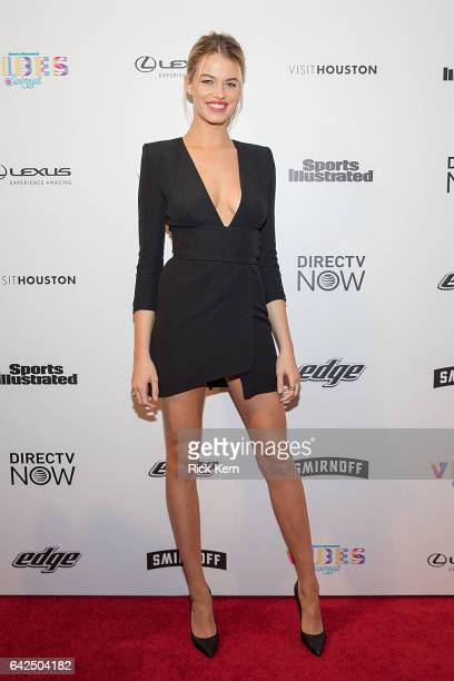 Swimsuit model Hailey Clauson attends the VIBES by Sports Illustrated Swimsuit 2017 launch festival at Post HTX on February 17 2017 in Houston Texas