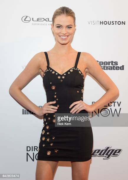 Swimsuit model Hailey Clauson attends the VIBES by Sports Illustrated Swimsuit 2017 launch festival on February 18 2017 in Houston Texas