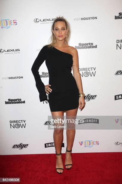 Swimsuit model Hannah Jeter at the VIBES by Sports Illustrated Swimsuit 2017 launch festial on February 17 2017 in Houston Texas