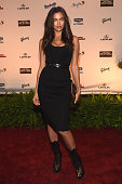 Swimsuit model Irina Shayk attends the Sports Illustrated 2015 Swimsuit Takes Over Nashville With Kings of Leon event on February 11 2015 in...