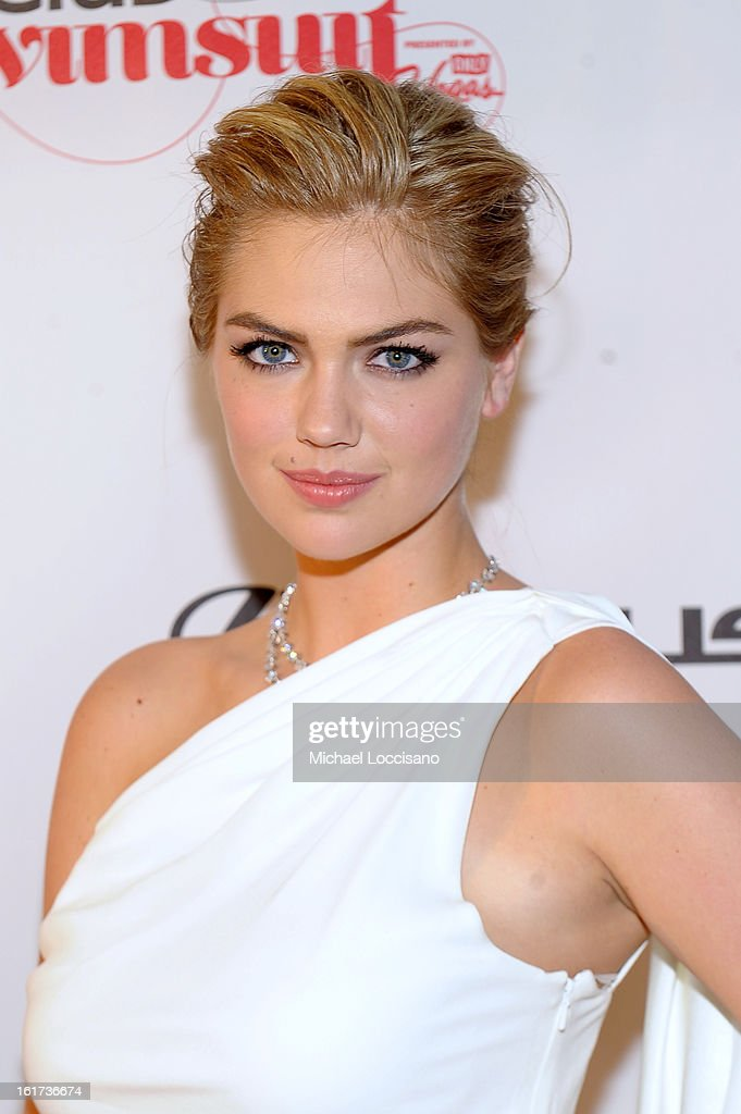 SI Swimsuit Model <a gi-track='captionPersonalityLinkClicked' href=/galleries/search?phrase=Kate+Upton&family=editorial&specificpeople=7488546 ng-click='$event.stopPropagation()'>Kate Upton</a> attends Club SI Swimsuit at 1 OAK Nightclub at The Mirage Hotel & Casino on February 14, 2013 in Las Vegas, Nevada.