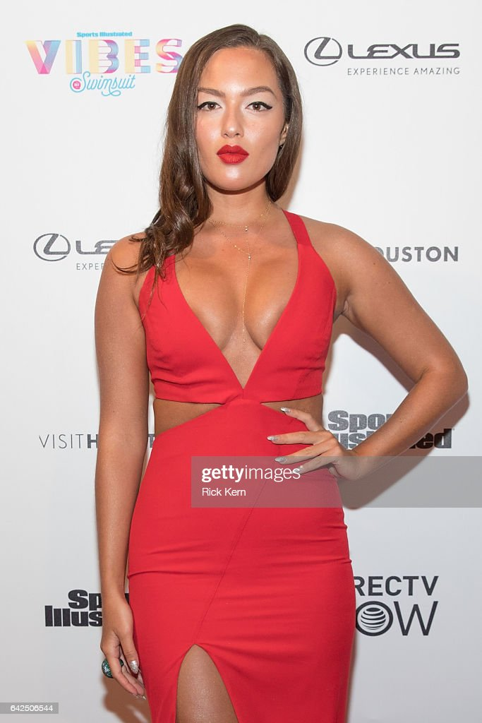 SI Swimsuit model Mia Kang attends the VIBES by Sports Illustrated Swimsuit 2017 launch festival at Post HTX on February 17, 2017 in Houston, Texas.