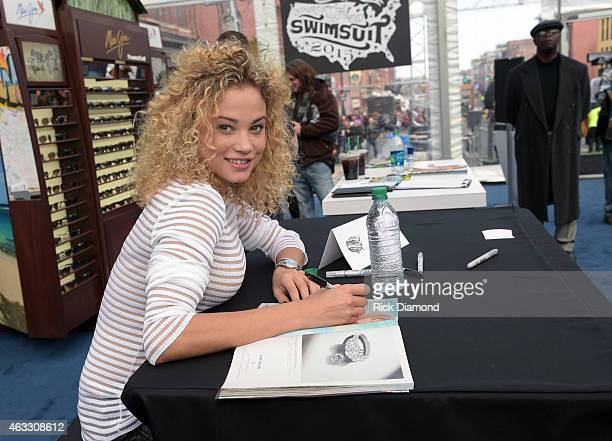 Swimsuit Model Rose Bertram attends the 2015 Sports Illustrated Swimsuit's 'Swimville' Takes Over Nashville Day 2 on February 12 2015 in Nashville...