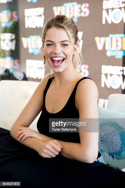 SI Launch Week View of Hailey Clauson during SI Swimsuit Vibes Festival at The Post HTX Houston TX CREDIT Taylor Ballantyne