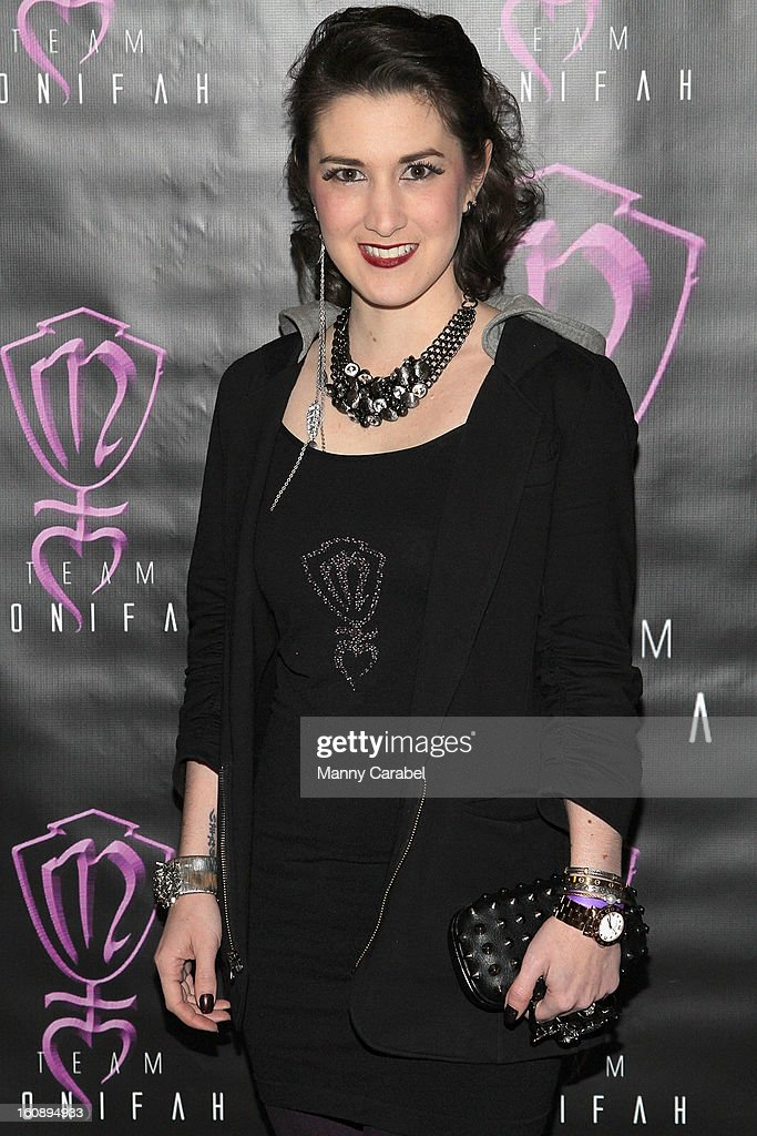 Swimwear Designer Caitlin Kelly attends Monifah's 'In Her Skin' Showcase at Katra Lounge on February 6, 2013 in New York City.
