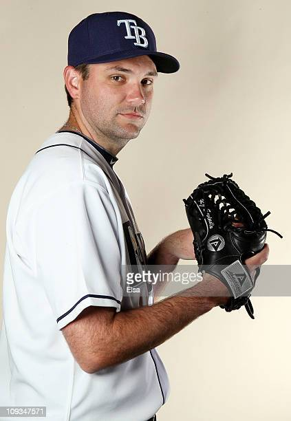 J Swindle of the Tampa Bay Rays poses for a portrait during the Tampa Bay Rays Photo Day on February 22 2011 at the Charlotte Sports Complex in Port...