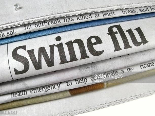 Swine Flu Epidemic Headline