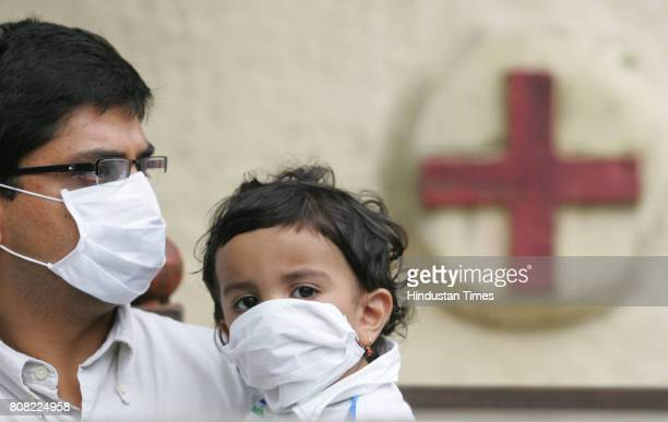 Swine Flu Mahadev Dixit age 1half year boy from Powai has symptoms of Swine Flu been brought to Hospital after his mother was addmitted to Kasturba...
