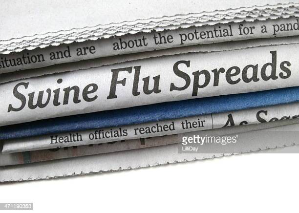 Swine Flu Spreads Headline