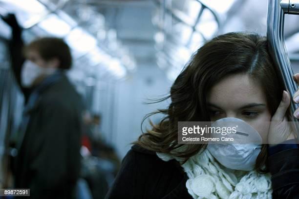 Swine flu subway