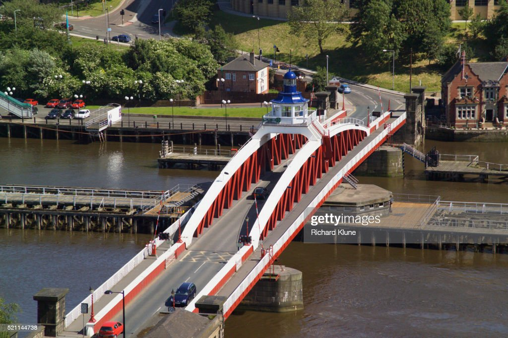 Swing Bridge Spanning the Tyne