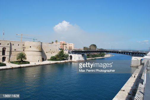 Swing bridge, Taranto Italy