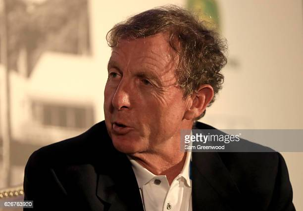 Swing coach David Leadbetter speaks during the HSBC Golf Business Forum on November 30 2016 in Ponte Vedra Beach Florida