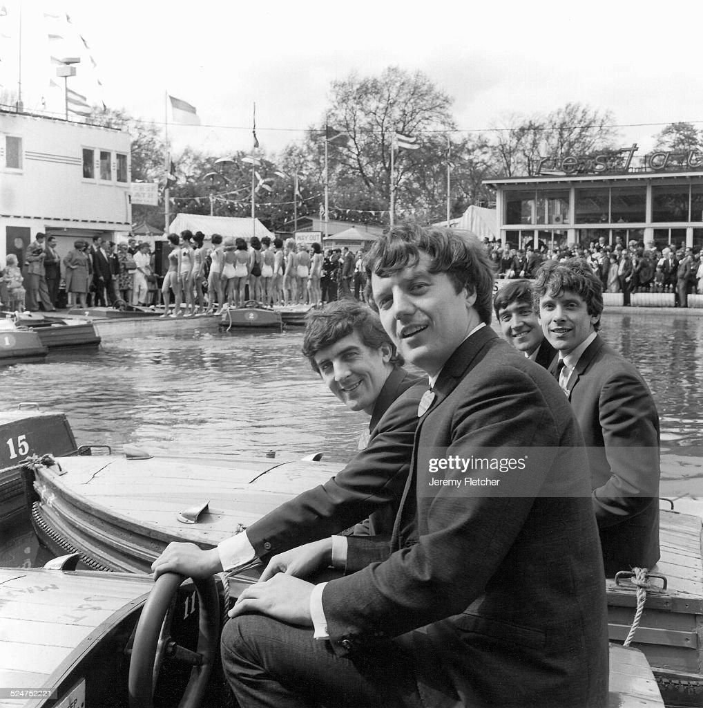 Swinging Blue Jeans at NME event Festival Gardens Battersea Park London United Kingdom 1964