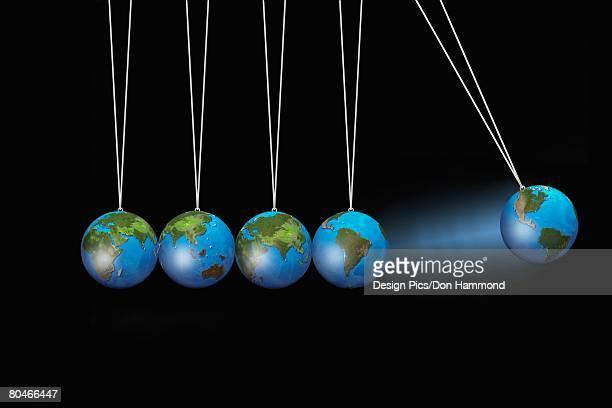 Swinging Globes