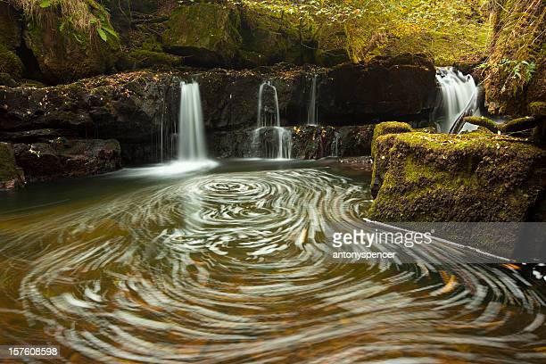 Swirlpool in den Brecon Beacons.