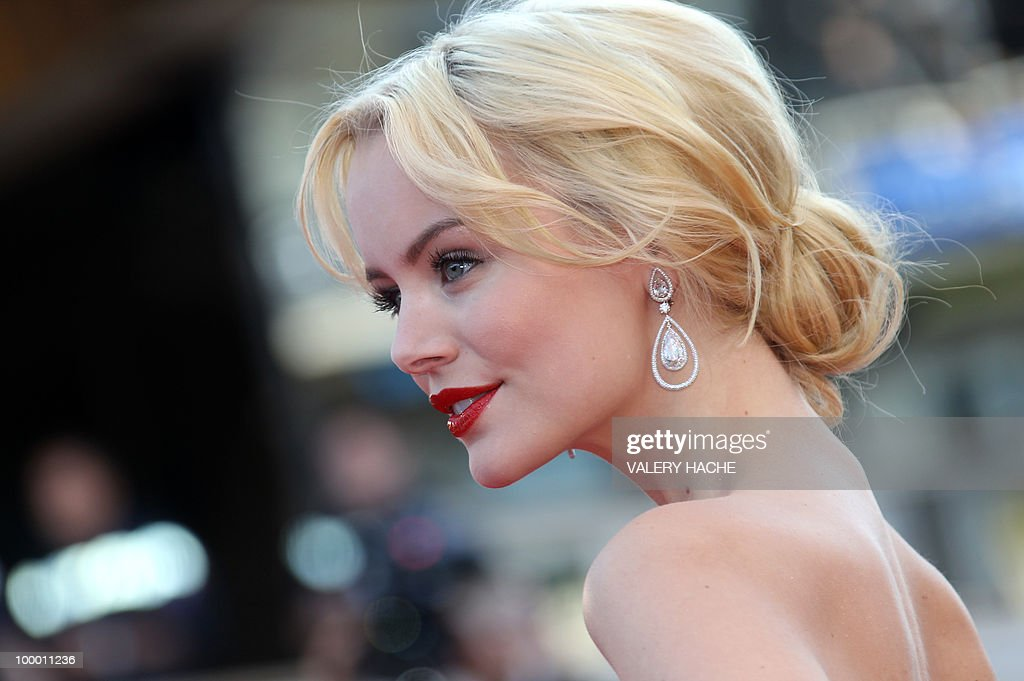 Swiss actress Helena Mattsson arrives for the screening of 'Biutiful' presented in competition at the 63rd Cannes Film Festival on May 17, 2010 in Cannes.