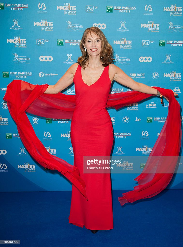 Swiss actress Marianne Basler attends 'Les Magritte Du Cinema 2014' at Square Brussels on February 1, 2014 in Brussel, Belgium.